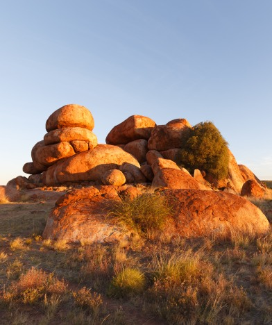 The Devils Marbles - sunset