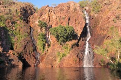 Wangi Falls - waiting for the sun to set